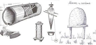 disegni-antichi-strumenti-per-apicoltura